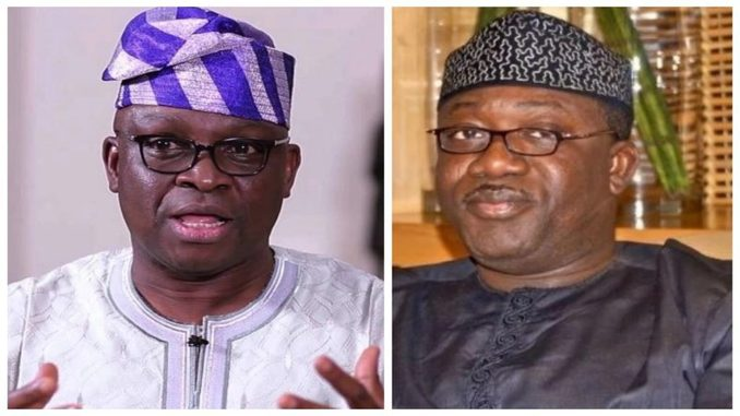 fayose fires back at fayemi