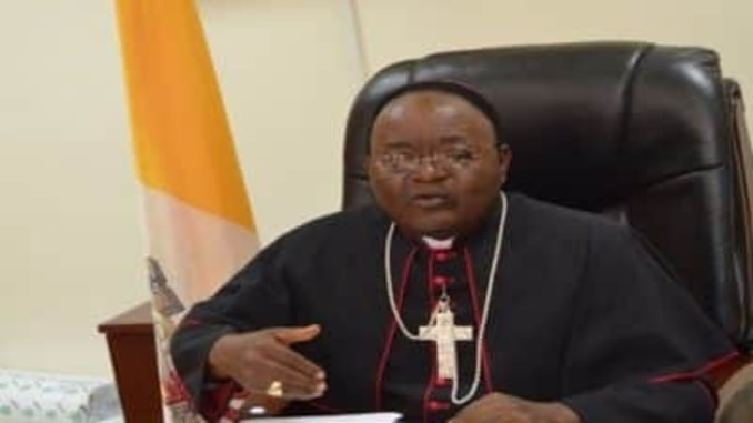 archbishop reveals why tithes