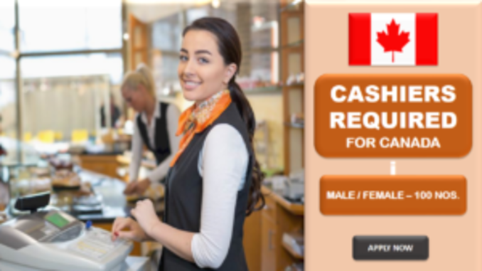 canada urgently need cashiers