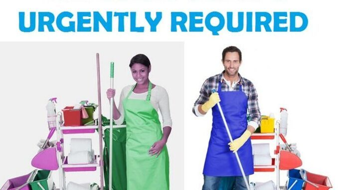 canada offers foreigners hotel cleaning jobs
