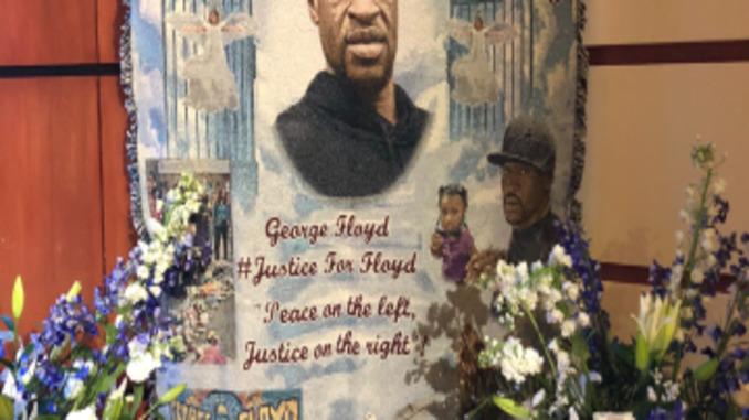 george floyd buried